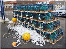 NT6779 : Coastal East Lothian : New Pots For Charlie Boy by Richard West
