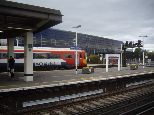 Gatwick Airport Express in Gatwick station