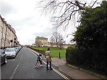 ST7465 : The Cotswold Way towards The Royal Crescent, Bath by Ian S