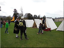 ST7465 : A reinactment society at the Royal Crescent, Bath by Ian S