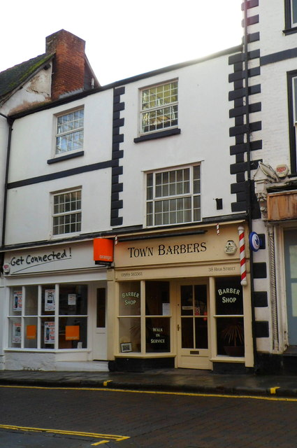 Town Barbers, Ross-on-Wye
