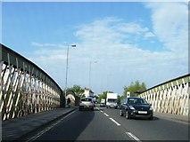 SU4212 : Northam Road, over railway by Alex McGregor