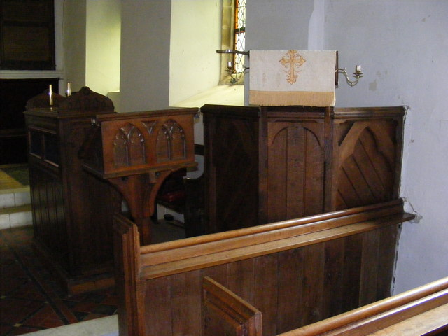 Lectern and pulpit of St.John's Church