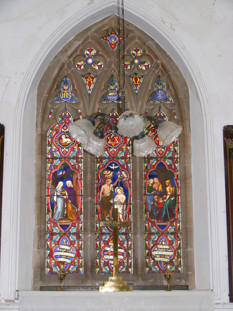 Stained Glass Window of St.John's Church