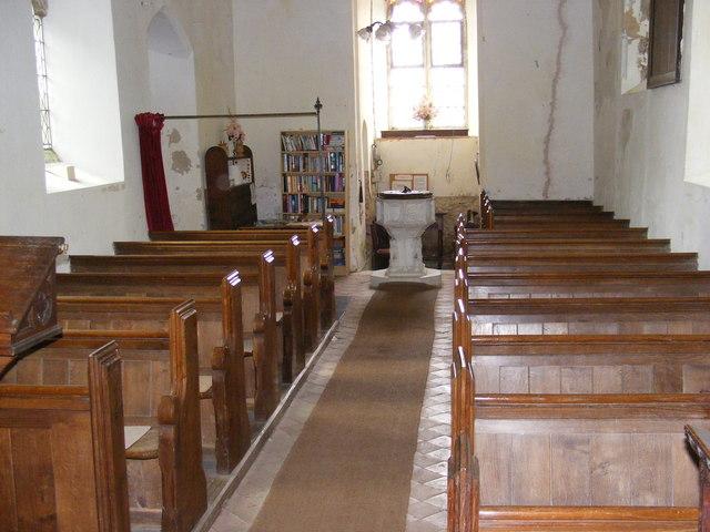 Inside St.John's Church