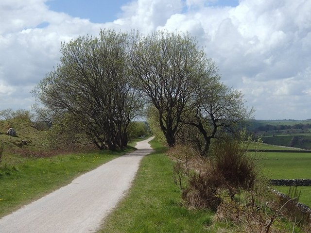 View along the Tissington Trail