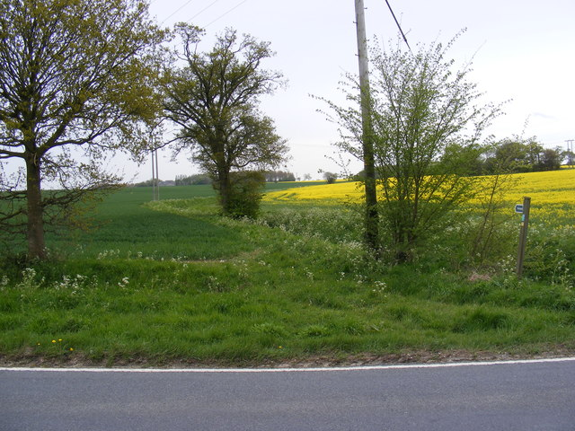 Footpath off the A144 St.John's Road