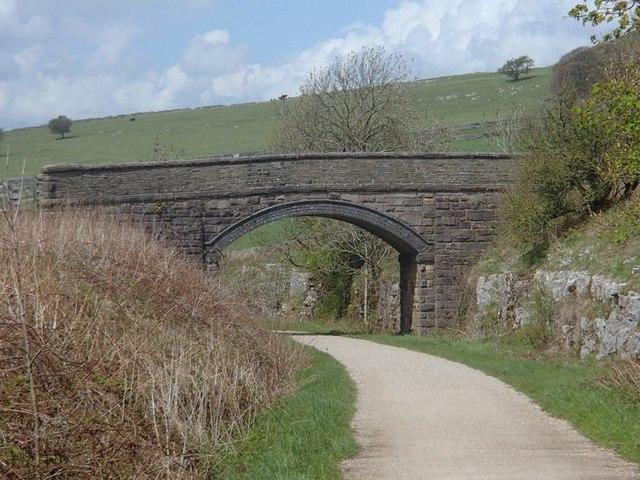 A bridge over the Tissington Trail