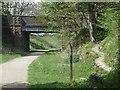 SK1460 : Tissington Trail and bridge near Heathcote by Andrew Hill