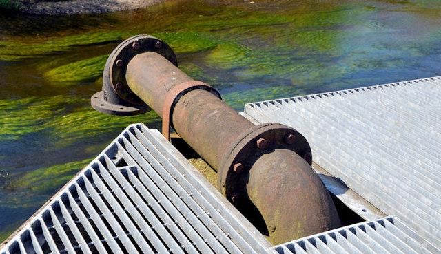 Old pipe, Ballymena (1)