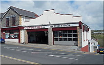 ST1599 : St David's Tyres, Bargoed by Jaggery