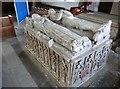 TA1063 : Tomb in St Martin's church, Burton Agnes by Derek Voller