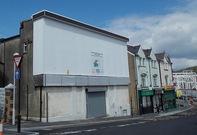 Proposed prestigious office development, Bargoed