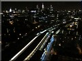TQ3180 : Waterloo East station by night by Patrick Mackie