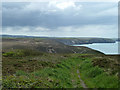 SW7049 : Footpath to Chapel Porth by Robin Webster