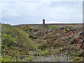 SW7050 : Old mine workings near St Agnes by Robin Webster