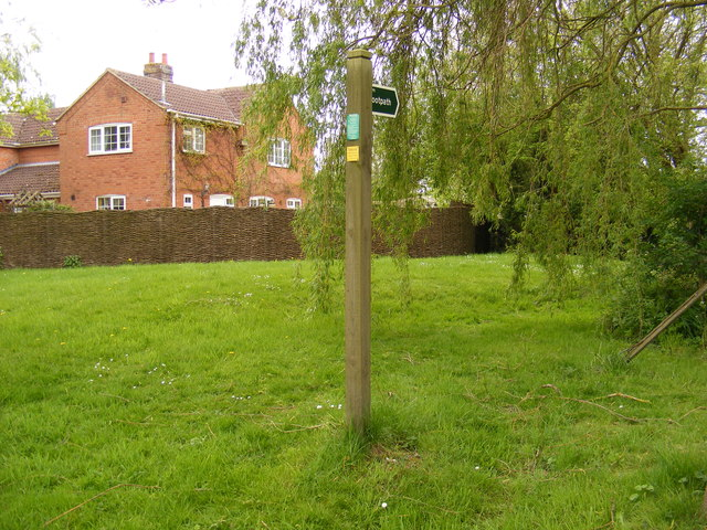 Footpath to St.Andrew's Church & School Road
