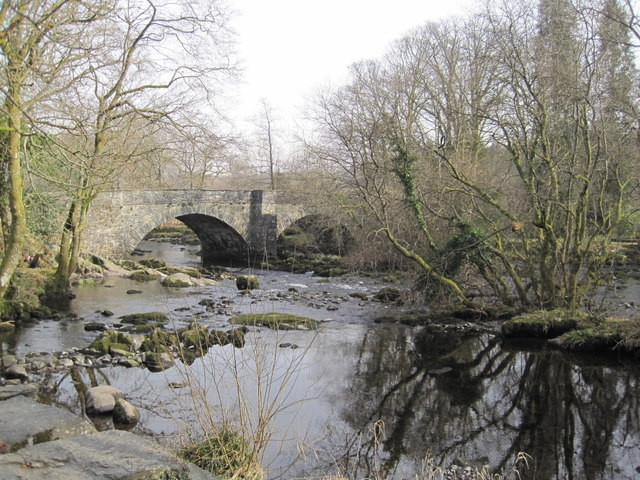 Road Bridge at Skelwith Bridge