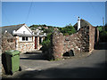 SX9272 : Entrance to Barn End, Higher Ringmore Road, Ringmore by Robin Stott