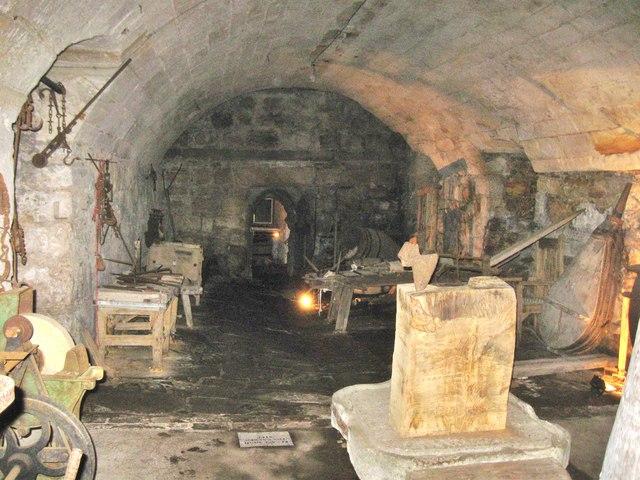 Interior rooms at Chillingham Castle 1