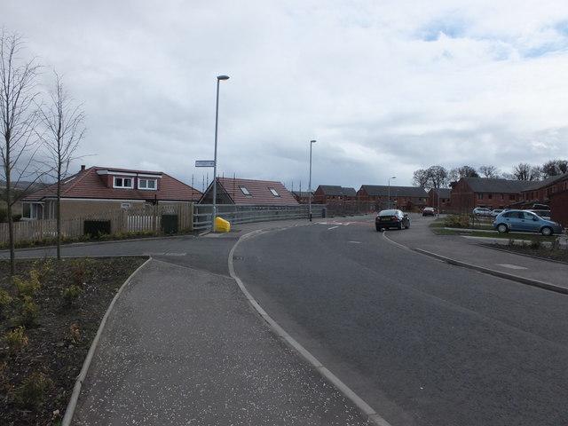 Junction with Dalquhurn Lane