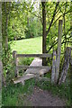 TQ8932 : Stile near Belcote Manor Farm by Julian P Guffogg