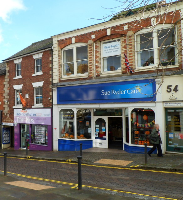 Sue Ryder Care charity shop, Ross-on-Wye