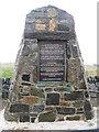 NB4639 : Memorial at Col Uarach by M J Richardson