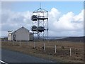 HP6006 : Phone mast on the Hill of Caldback by Oliver Dixon