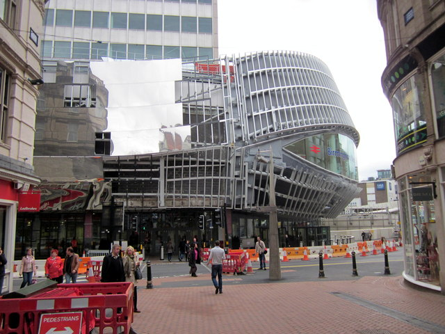 New Street Station, New Stephenson Street Entrance
