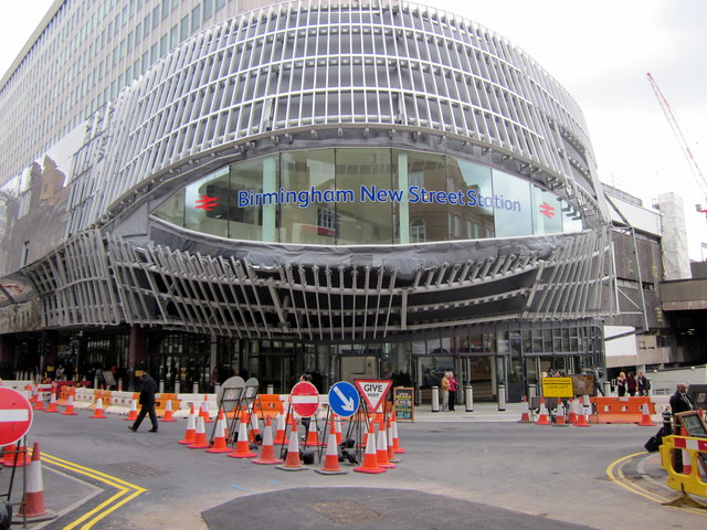 New Street Station, New Stephenson Street Entrance (2)
