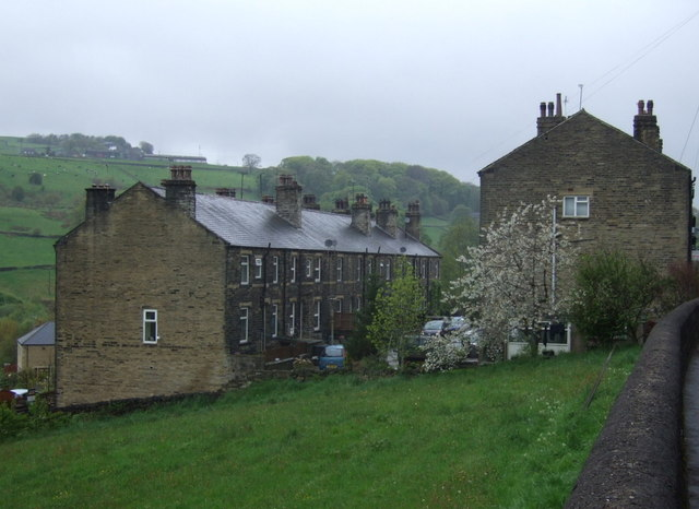 Houses, Luddenden Foot