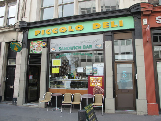 The Piccolo Deli, Goswell Road, EC1