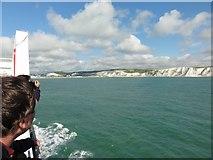 TR3341 : Port of Dover by Helmut Zozmann