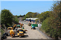 TQ7408 : Hastings-Bexhill Link road beginning construction by Oast House Archive