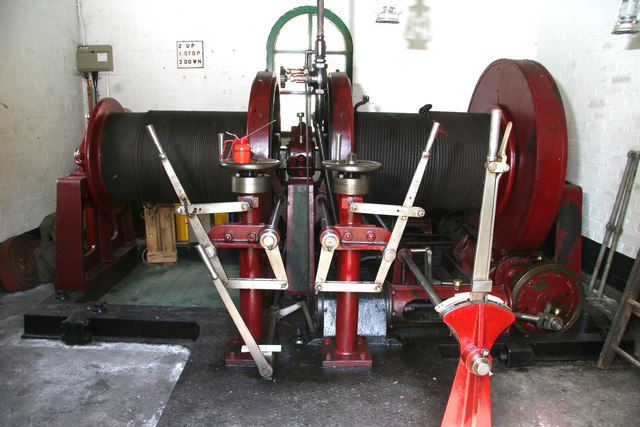 Mill Meece Pumping Station - winch