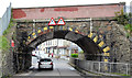 J0153 : The Annagh (railway) bridge, Portadown (1) by Albert Bridge