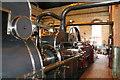 SJ8333 : Mill Meece Pumping Station - 1914 engine by Chris Allen