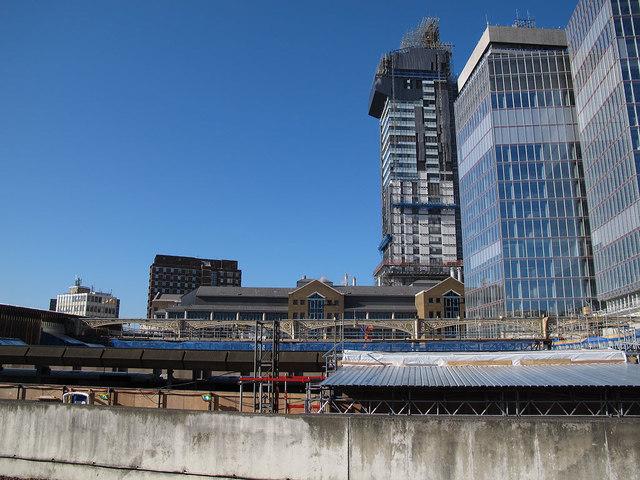 London Bridge: demolition in progress