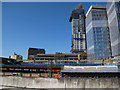 TQ3280 : London Bridge: demolition in progress by Stephen Craven