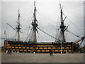 SU6200 : HMS Victory, Portsmouth Historic Dockyard by Graham Robson