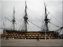 SU6200 : HMS Victory, Portsmouth Historic Dockyard by Graham Robson