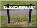 TM4087 : Cromwell Road sign by Adrian Cable