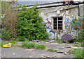 J5081 : Derelict building and yard, Bangor by Albert Bridge