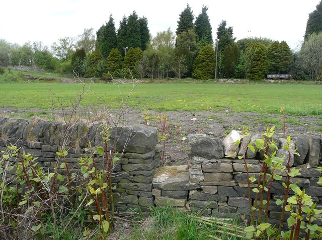 The eastern end of Elland Footpath 44