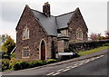 SO3014 : Former hospital lodge on the east side of Chestnut Drive, Abergavenny by Jaggery