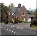 SO3014 : Former hospital lodge on the west side of Chestnut Drive, Abergavenny by Jaggery