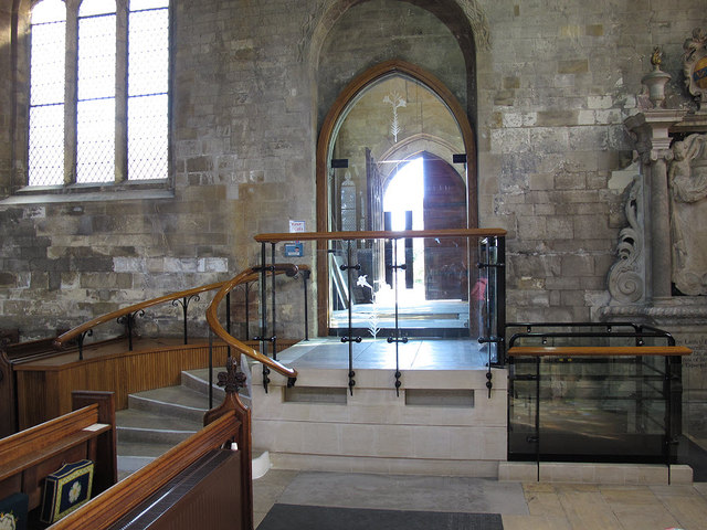 St Mary's church, Beverley: accessible entrance