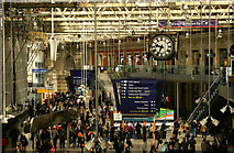 TQ3179 : Waterloo Station concourse by Hugh Chevallier
