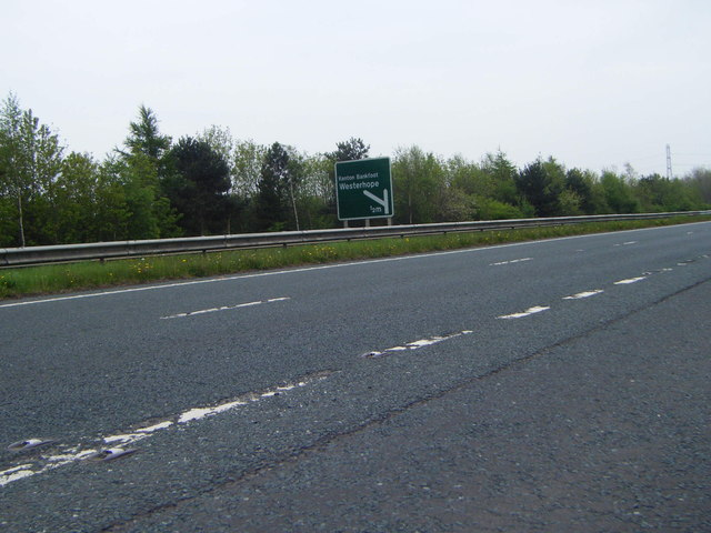 A696 layby